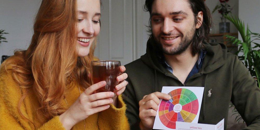 Teapro founders Tatjana Apukhtina and Tom Bowden